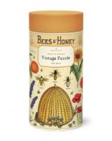 Vintage puzzle Bees&Honey Logo